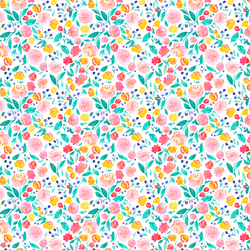 Tiny Jane Floral in Bright