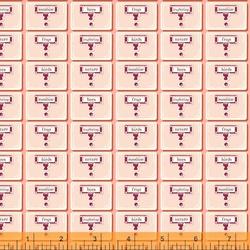 Card Catalog in Peach