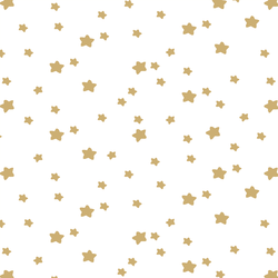 Star Light in Golden Canyon on White
