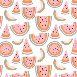 Little Rainbow Melon in White