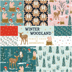 Winter Woodland Fat Quarter Bundle
