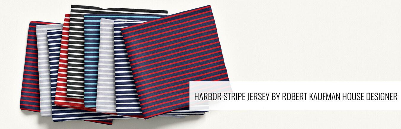 Harbor Stripe Jersey Knit