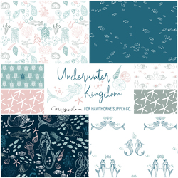 Underwater Kingdom Fat Quarter Bundle