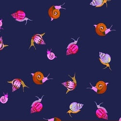 Snails in Indigo