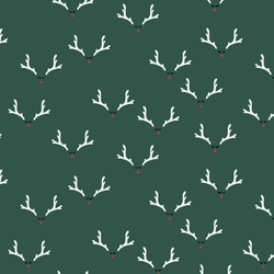Antlers in Pine Needle