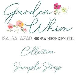 Garden Whim Sample Strip