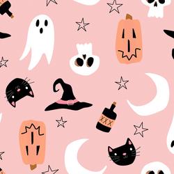 Large Sweet Halloween in Taffy