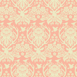 Little Antler Damask in Rosewater