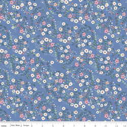 Floral in Blue