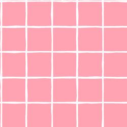 Windowpane in Rose Pink