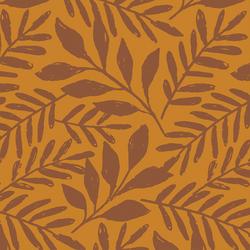 Large Pressed Leaves in Spice on Harvest