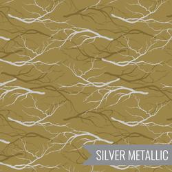 Dense Forest in Light Olive Metallic