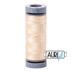 Aurifil Thread 2123 Small Spool Butter - 50wt