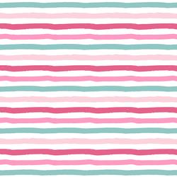 Sugar Stripe in Bubble Gum