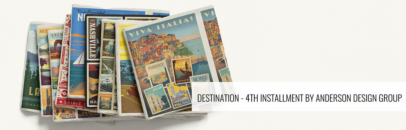 Destinations - 4th Installment by Anderson Design Group