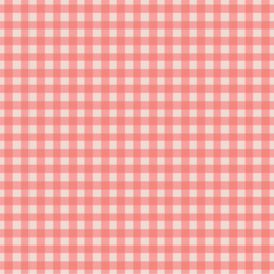 Gingham in Sweet Strawberry