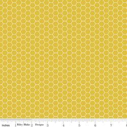 Honeycomb in Mustard