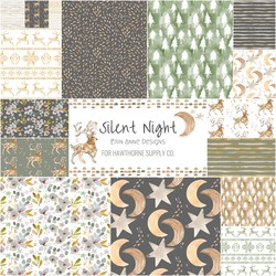Silent Night Fat Quarter Bundle