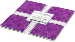 """Flowerhouse Basics 10"""" Square Pack in Lilac"""