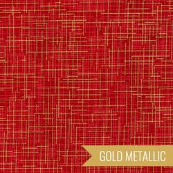 Quilter's Linen Metallic in Crimson
