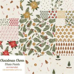 Christmas Cheer Main Prints Fat Quarter Bundle