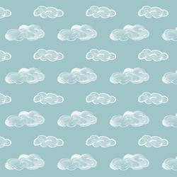 Clouds in Aqua Sky