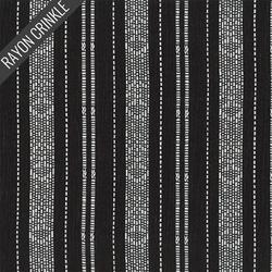 Barcode Crinkle in Black