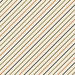 Slanted Stripe in Olive Multi