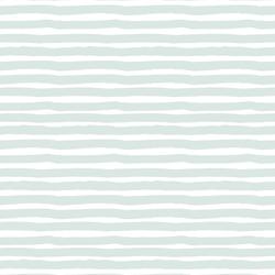 Painted Stripe in Iced Aqua