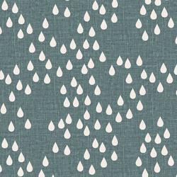 Rain Drops in Ocean