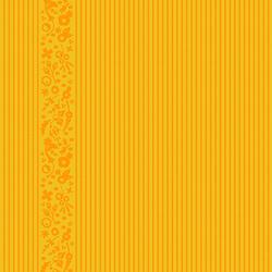 Oval Stripe in Marigold