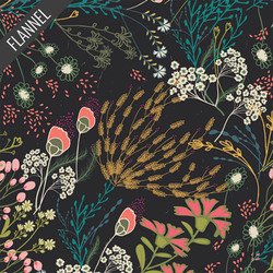 Meadow Flannel in Umbra