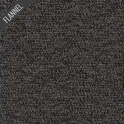 Highlands Tweed Flannel in Black