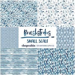 Brushstrokes Fat Quarter Bundle Small Scale