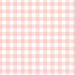 Large Summer Gingham in Petal Pink