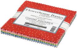 "Flowerhouse Basics 5"" Square Pack in Sweet"