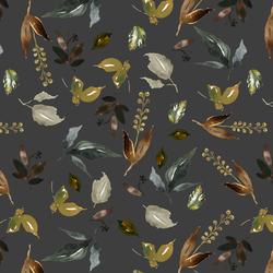 Woodland Foliage in Onyx