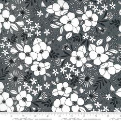 Wild Florals in Graphite