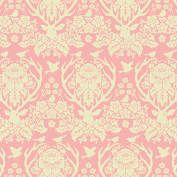 Little Antler Damask in Sweet Pea