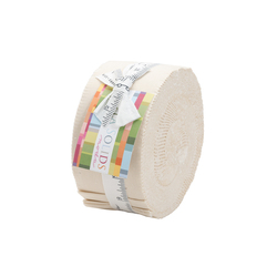 Bella Solids Jelly Roll in Natural