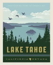 Poster Panel in Lake Tahoe