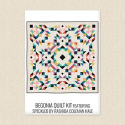 Begonia Quilt Kit