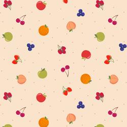 Fruit in Dark Cream
