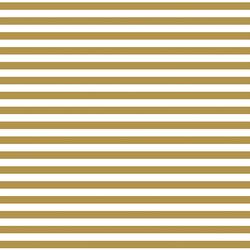 Horizontal Dress Stripe in Marigold