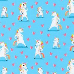 Magical Rainbow Unicorns in Sky