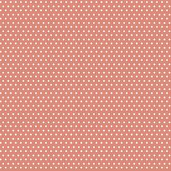 Polka Dots in Dark Peach