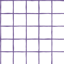 Windowpane in Ultra Violet on White