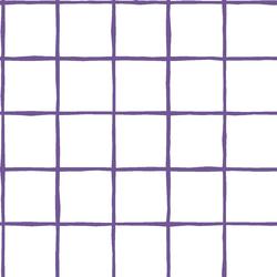Windowpane in Ultra Violet on White