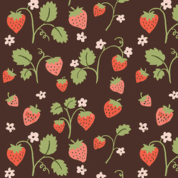 Strawberry in Brown