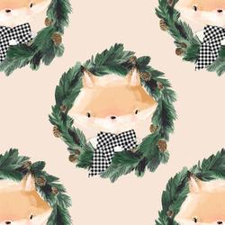 Fox in Eggnog
